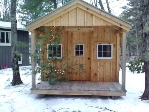 Dulcie's cabin